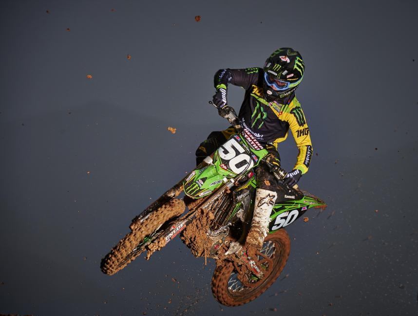 Injuries have prevented Cianciarulo from logging a lap of Lucas Oil Pro Motocross Championship competition since the 2013 season, but despite that he is expected to contend for the title.Photo: Courtesy of Monster Energy/Pro Circuit Kawasaki