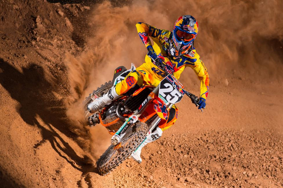 Fresh off his first career supercross title, Musquin looks to end his final season in the 250 Class with Red Bull KTM's first championship in the division.Photo: Courtesy of Red Bull KTM