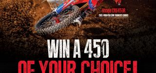 Win a 450 Raffle Initiative Returns for 2016 Lucas Oil Pro Motocross Championship