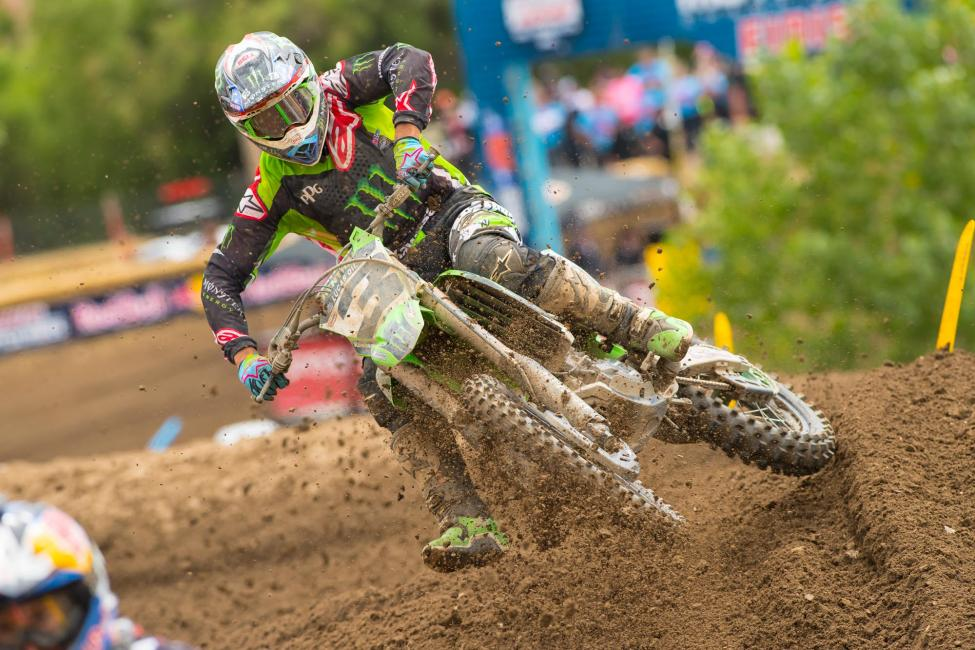 Tomac, last year's Hangtown winner, finished third.Photo: Simon Cudby