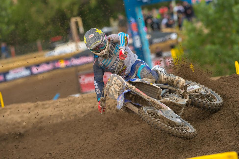 Alex Martin tied his career-best effort in second.Photo: Simon Cudby