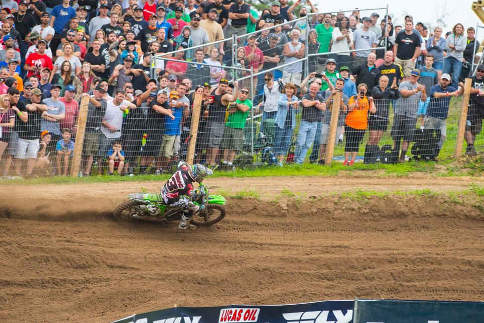 Tomac was dominant en route to his first win of 2016.Photo: Simon Cudby