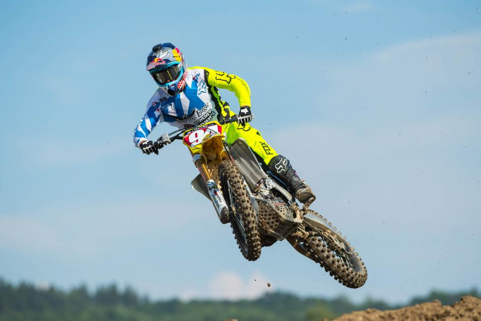 A pair of podium finishes for Roczen at Budds Creek will clinch his second career 450 Class title.Photo: Simon Cudby