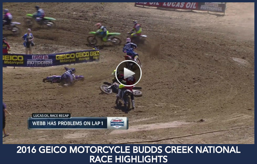 Race Highlights from the GEICO Motorcycle Budds Creek National