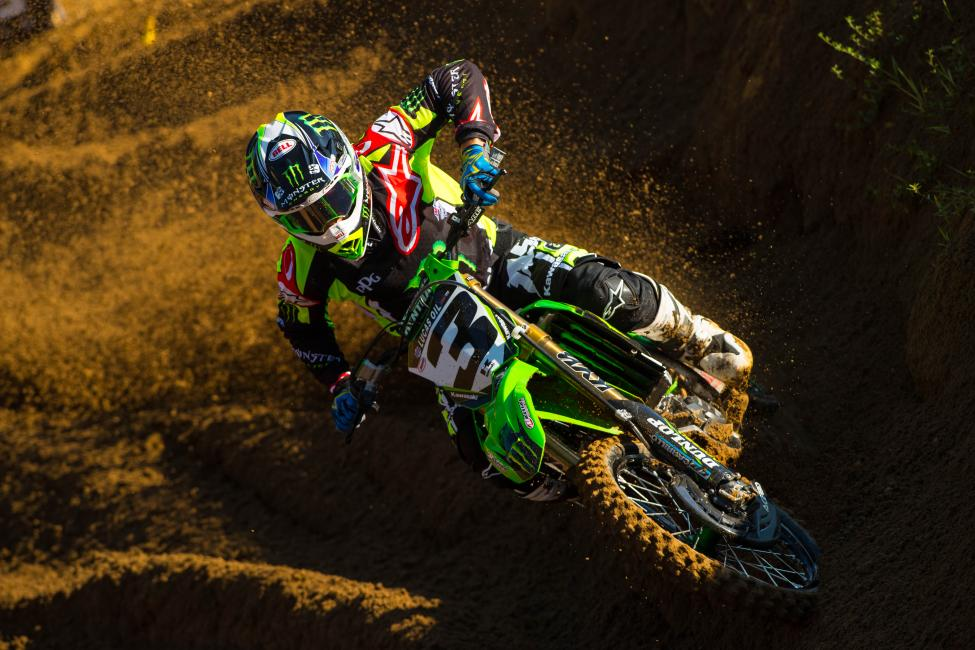 Tomac will look to cap off his runner-up finish in the championship with a third victory.Photo: Simon Cudby
