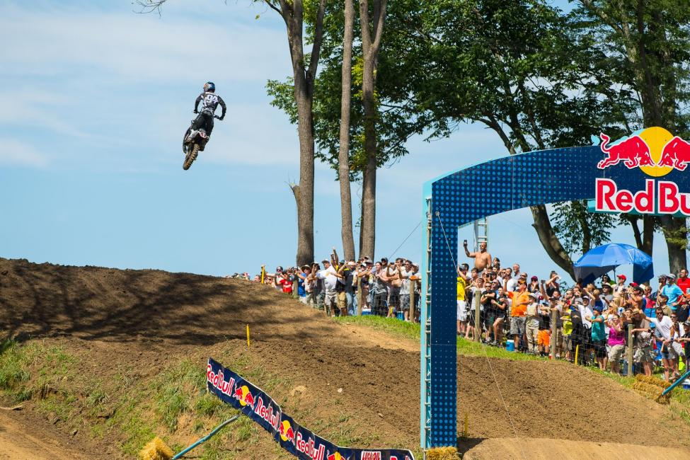 Roczen's 584 points is the fourth-highest season total earned by a rider in Pro Motocross history.Photo: Simon Cudby