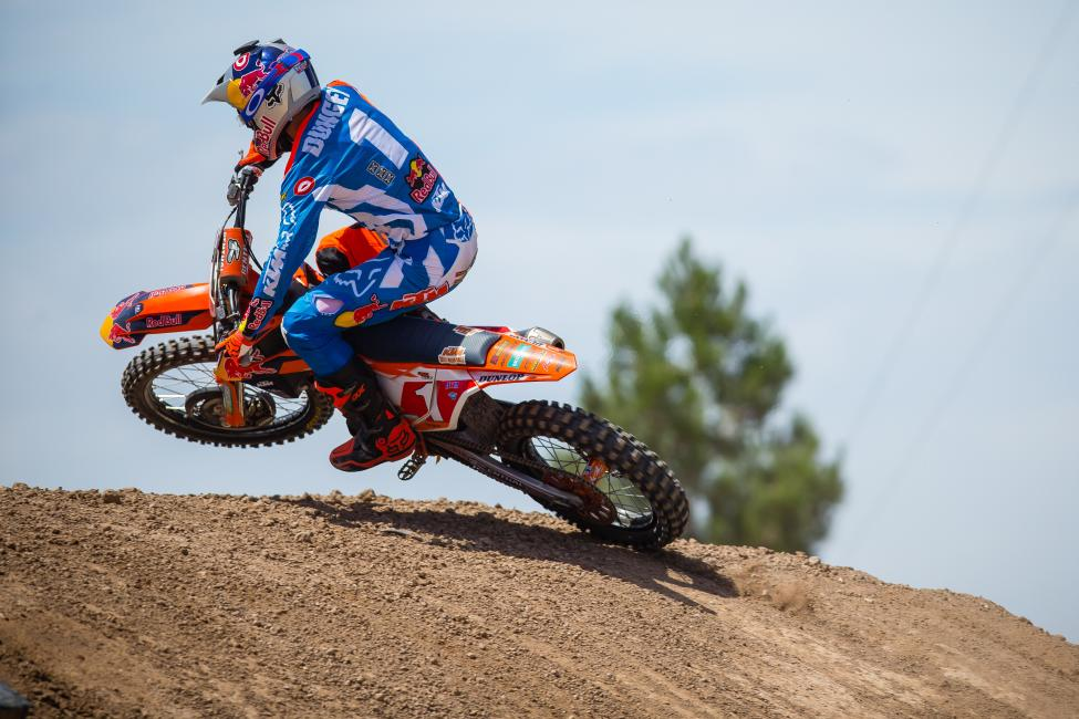 Dungey already sits second on the all-time 450 Class wins and podiums lists. He'll chase a fourth Pro Motocross title this summer.Photo Courtesy: Racer X
