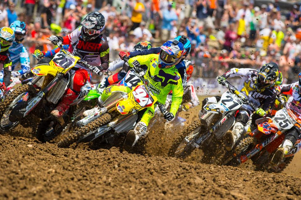 The 2017 Lucas Oil Pro Motocross Championship will storm onto television screens for more than 60 hours of broadcast coverage this summer.Photo Courtesy: MX Sports Pro Racing / Simon Cudby
