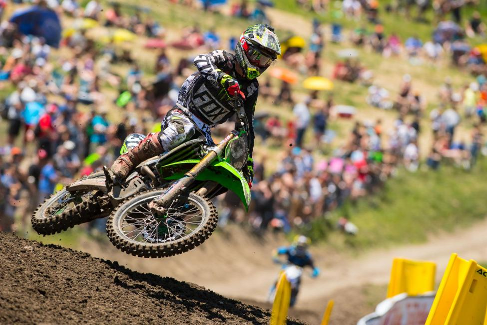 Savatgy hopes to build off an impressive 2016 season where he earned three wins.Photo: MX Sports Pro Racing