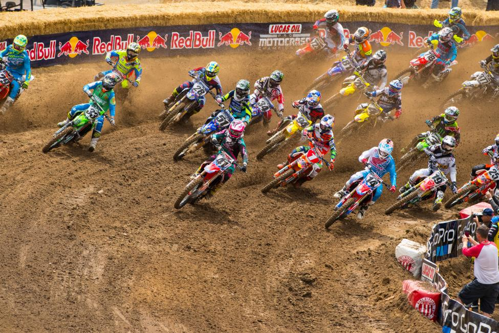 The 450 Class field will be without a past champion for just the seventh time in history.Photo: MX Sports Pro Racing