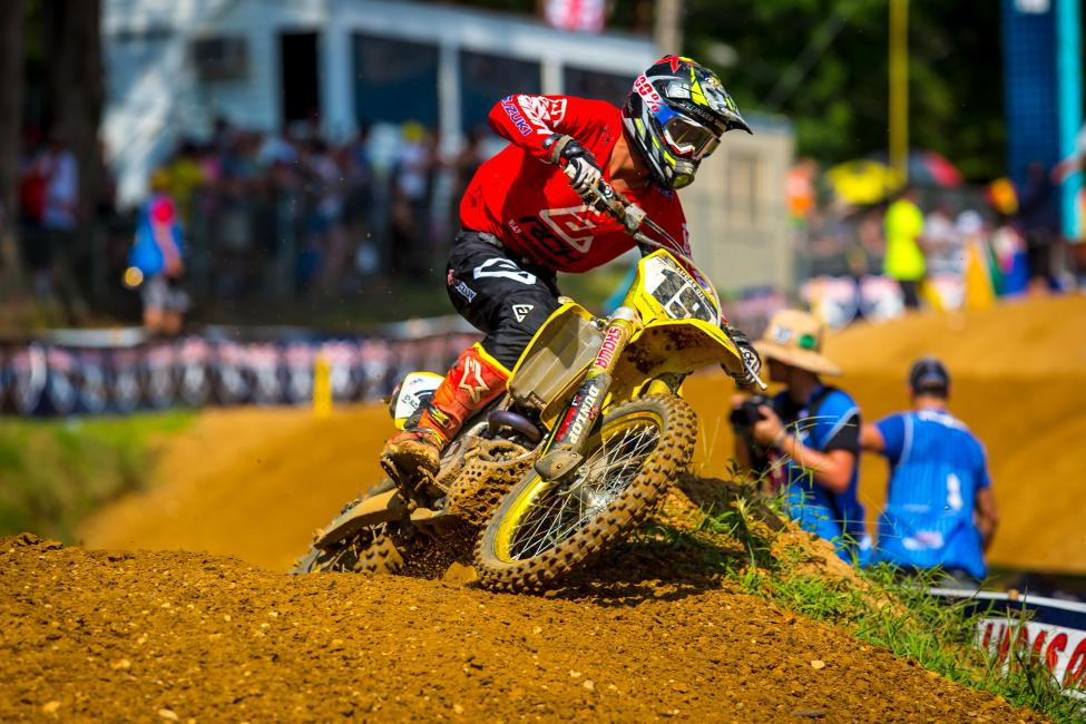 Bogle broke through in the 450 Class for his first career victory, which was also his podium debut.