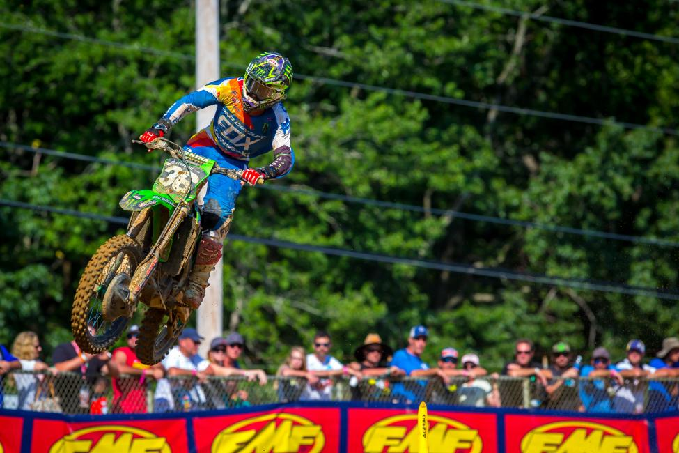 Cianciarulo broke through for a long-awaited first career win in the 250 Class.