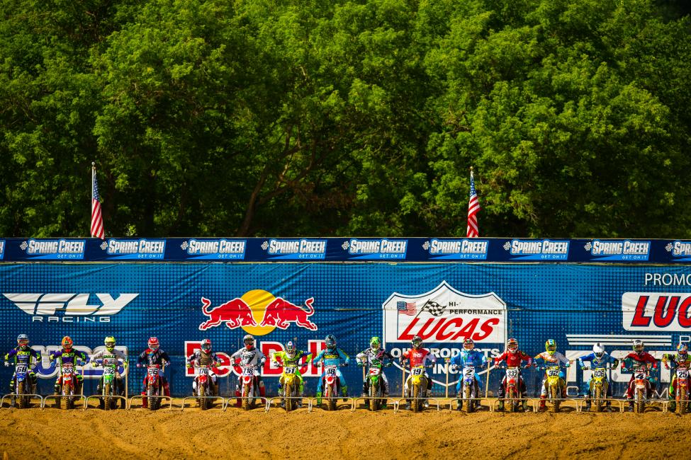 The gate is getting ready to drop on the 2018 Lucas Oil Pro Motocross season. Opening round is May 19th with the 50th Annual Red Bull Hangtown Motocross Classic.