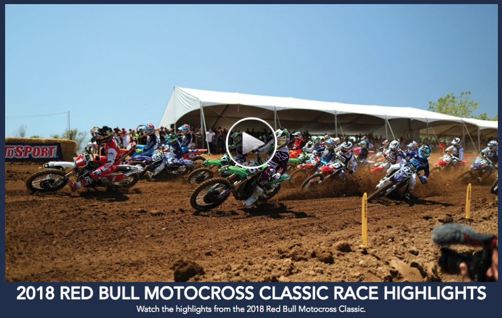Red Bull Hangtown Motocross Classic Highlights
