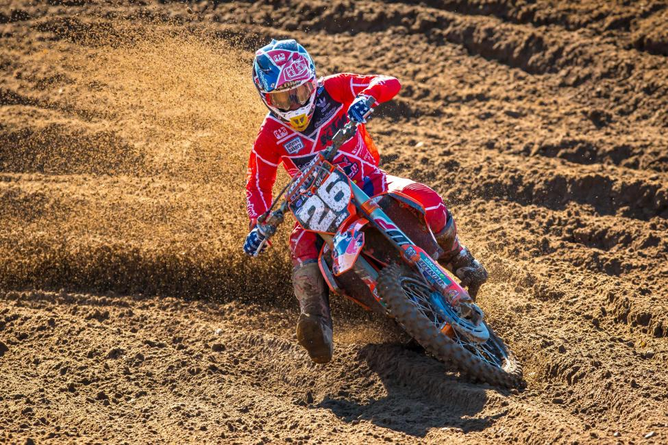 Alex Martin battled to second overall on the day (4-3) and maintains second in the championship.