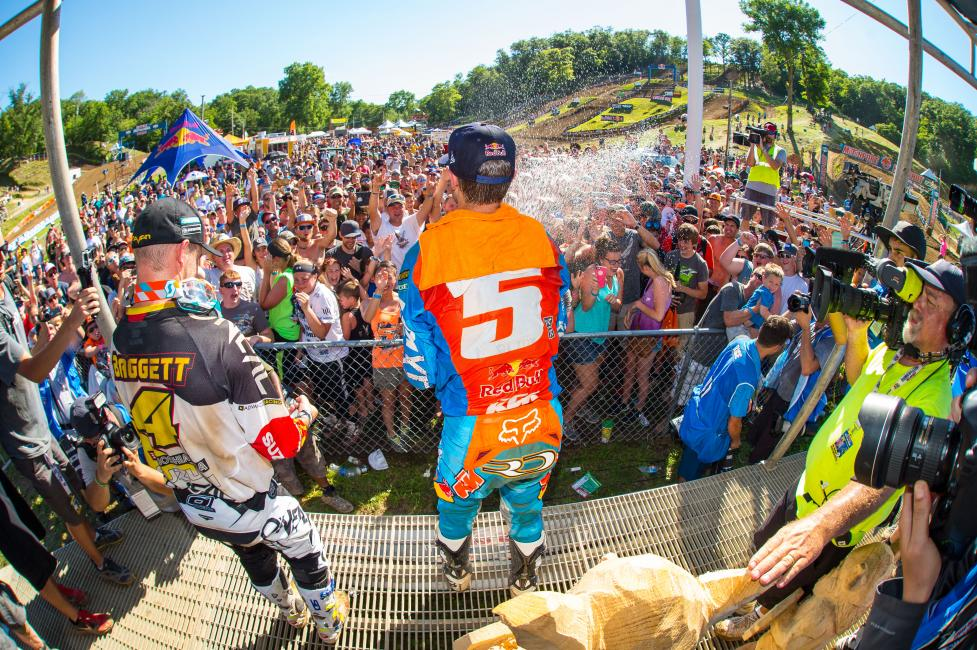 Ryan Dungey Named Grand Marshal of Spring Creek National