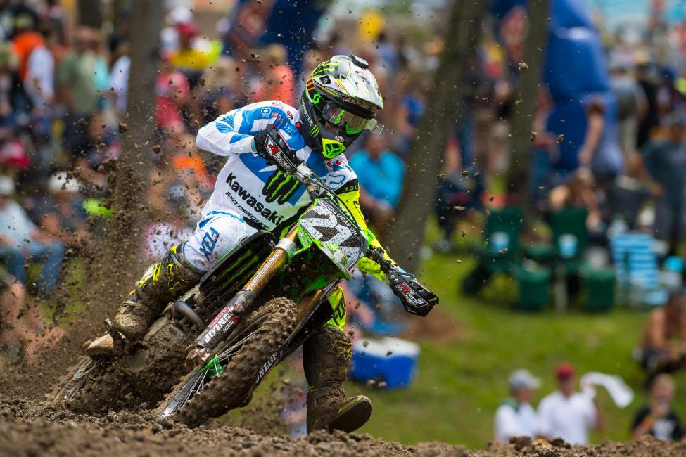 Forkner is the 80th different 250 Class winner in Pro Motocross history.Photo: Simon Cudby