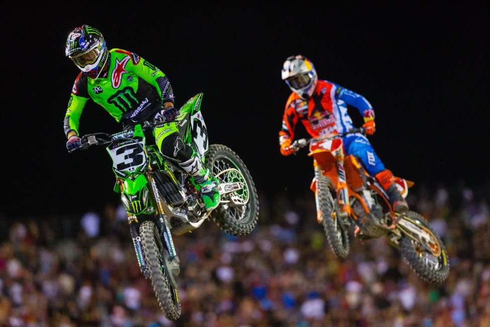 Tomac (3) provided a fierce challenge to Dungey, winning nine races. He finished runner-up in last season's Lucas Oil Pro Motocross Championship.Photo Courtesy: Racer X