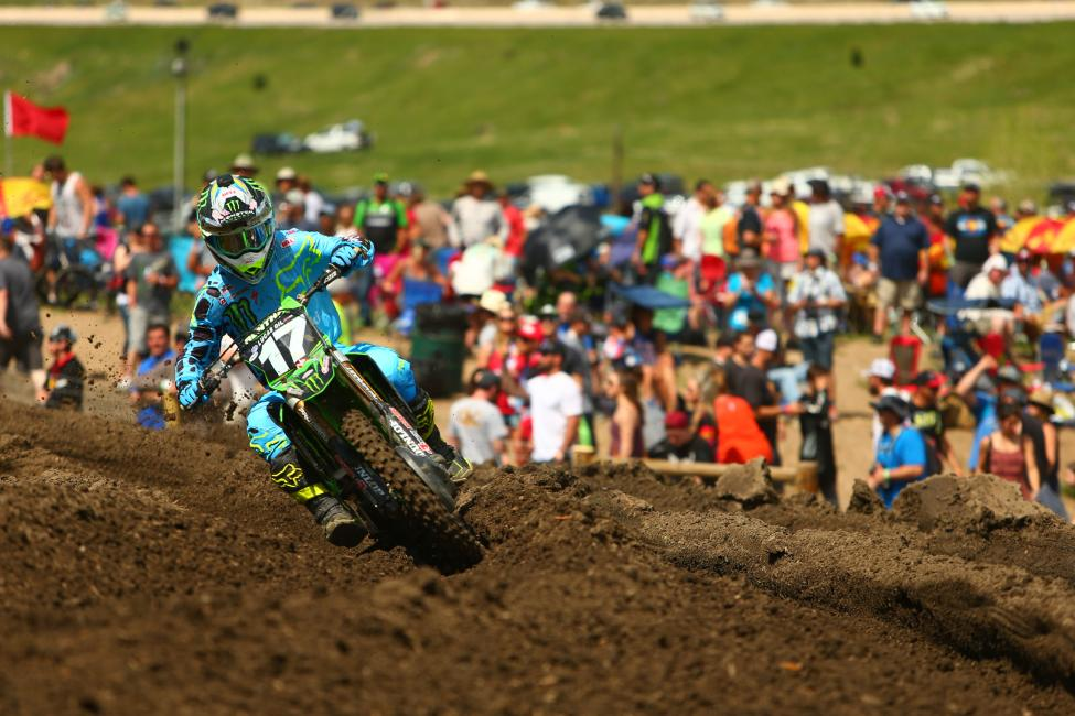 Savatgy won at Thunder Vallley for the second straight season, earning his first victory of 2017.Photo: MX Sports Pro Racing / Jeff Kardas