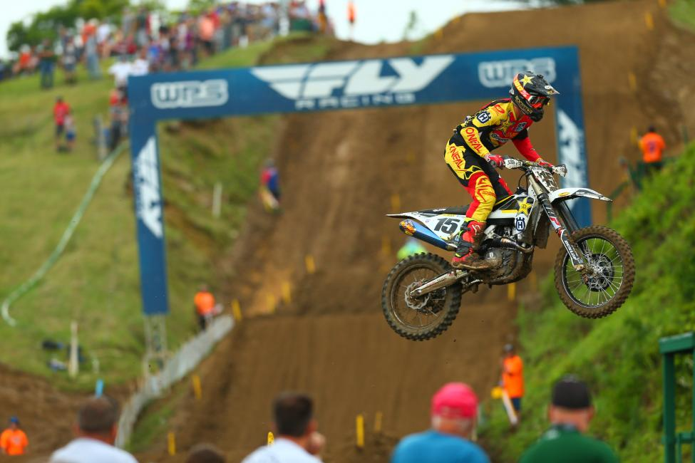 Wilson finished a career best second overall in the 450 Class.