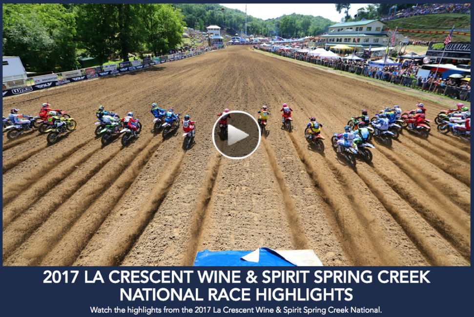 Lucas Oil Pro Motocross Championship Highlights: La Crescent