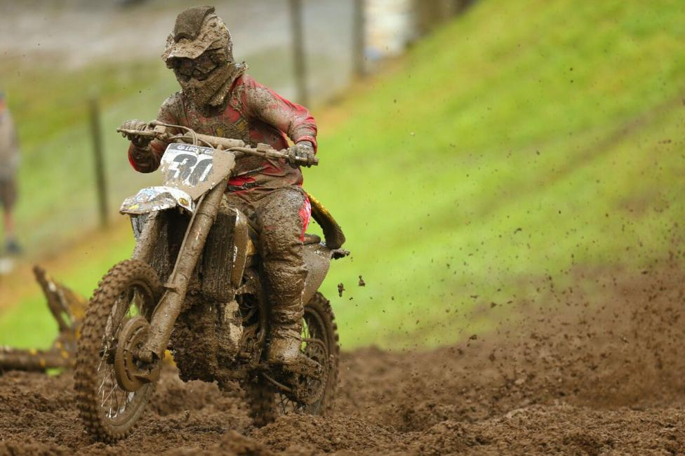 Unadilla marked back-to-back podiums for 450 Class rookie Davalos.