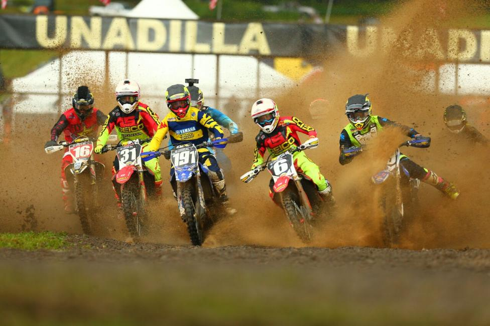 Martin (6) took the holeshot in Moto 2 and the overall victory (2-1) on the day.