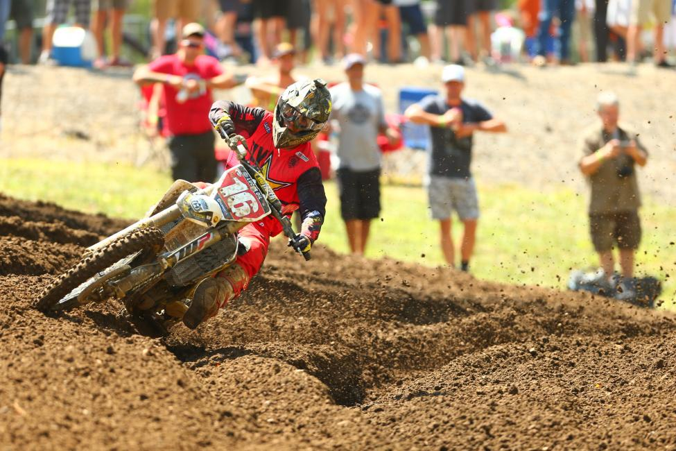 Osborne cemented is 250 Class Championship with a 1-1 effort for his fifth win of the season.