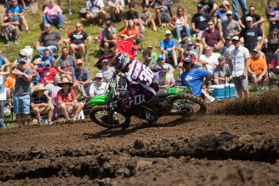 Cianciarulo followed up his maiden victory last weekend with a strong runner-up effort.