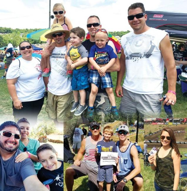 Over 4,200 military personal and family members have attended Lucas Oil Pro Motocross events with tickets donated to the Veteran Tickets Foundation since 2012.