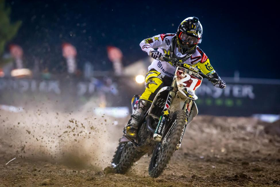 Jason Anderson earned four wins, and 11 podiums before clinching his 2018 AMA/FIM Supercross World Championship.