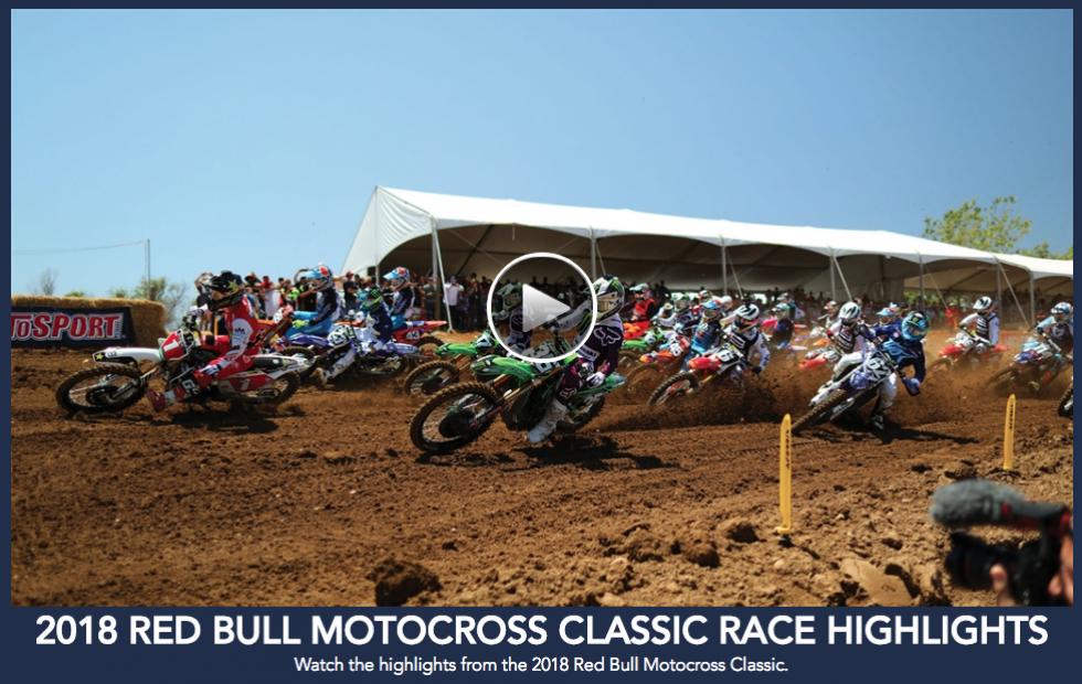 Red Bull Hangtown Motocross Classic Highlights