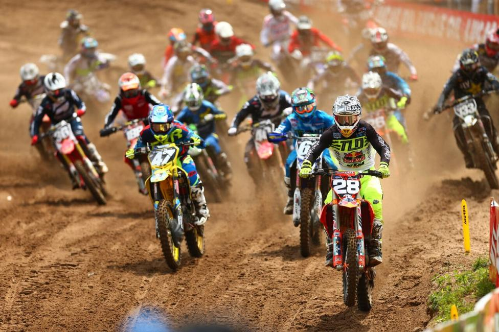 Shane McElrath swept the Motosport.com Holeshots on his way to third overall (6-2).