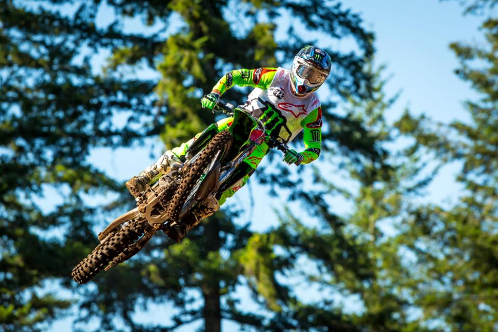 Tomac raced to his seventh win of the season.