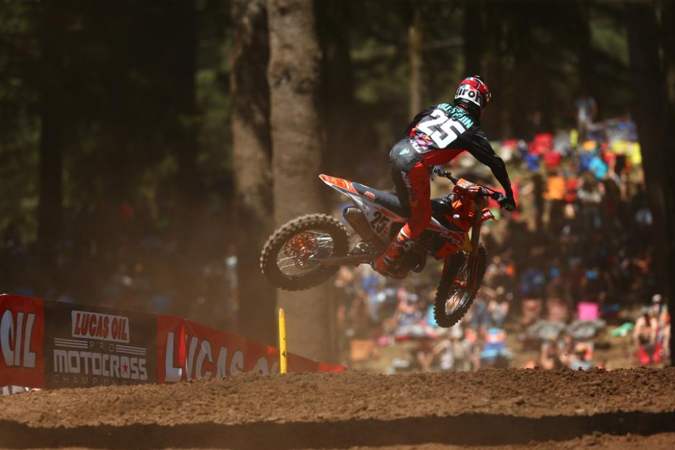 Musquin rounded out the overall podium in third.