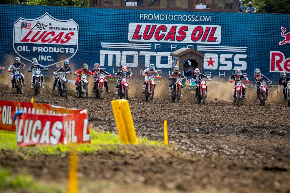 Lucas Oil Production Studios will help bring the action to the passionate motocross audience, with extensive live broadcasts on MAVTV and NBC Sports, plus live streaming via Peacock. Photo: Align Media